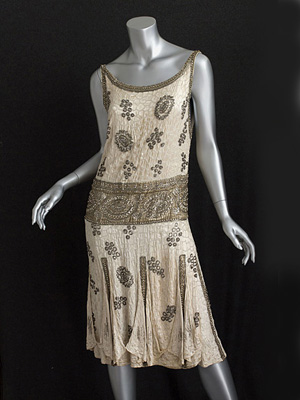 1920s evening dress pattern photo - 1