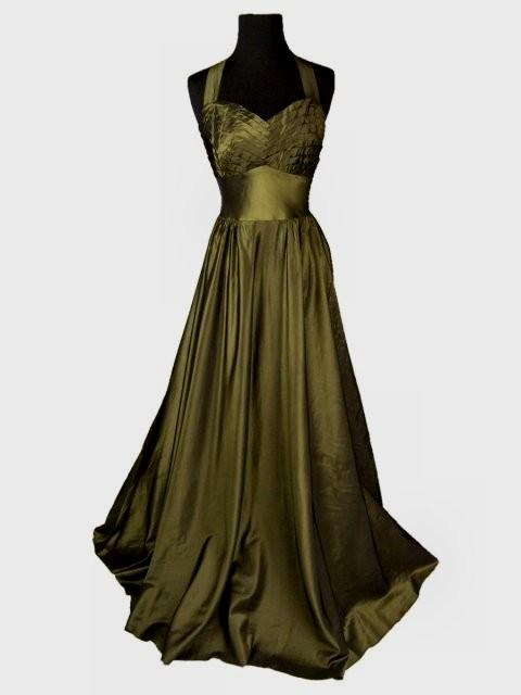 1940s evening dresses for sale photo - 1