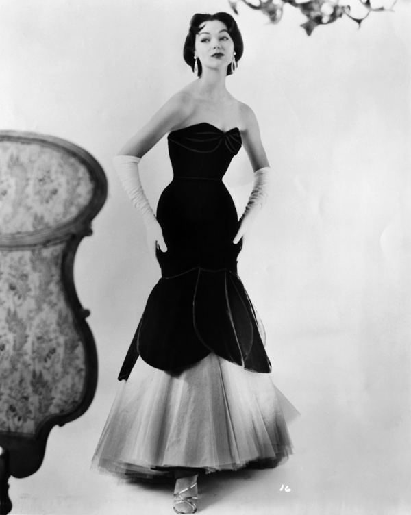 1950 evening dresses photo - 1