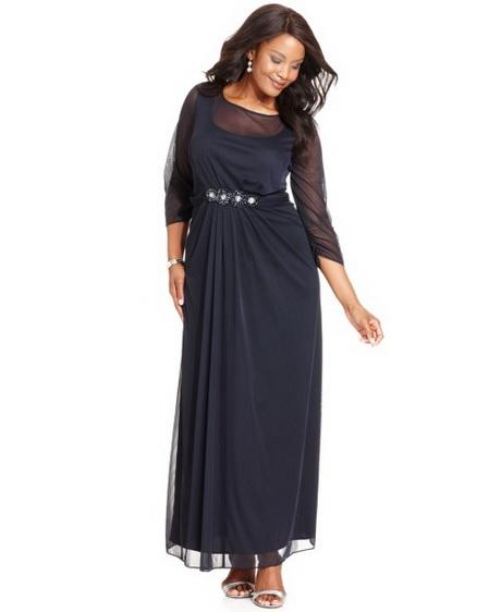 alex evening dresses plus size photo - 1