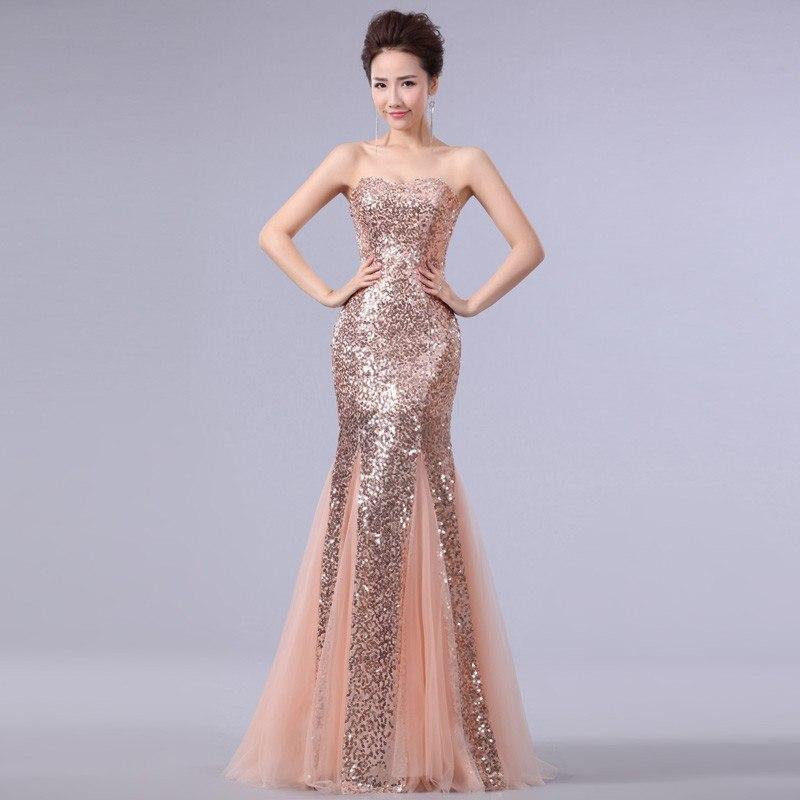aliexpress plus size evening dresses photo - 1