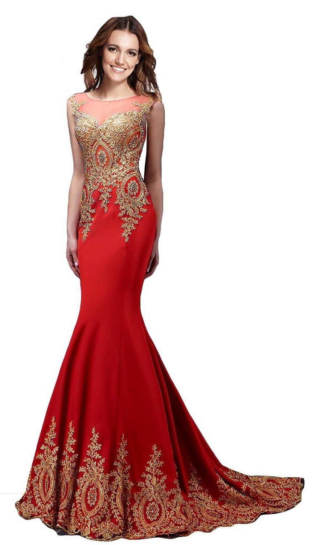 amazon evening dresses long photo - 1