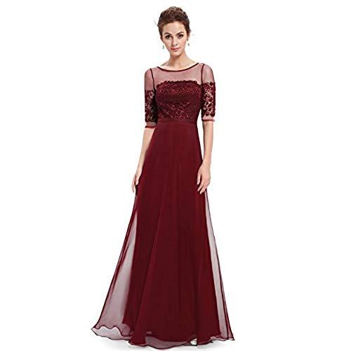 amazon evening dresses with sleeves photo - 1