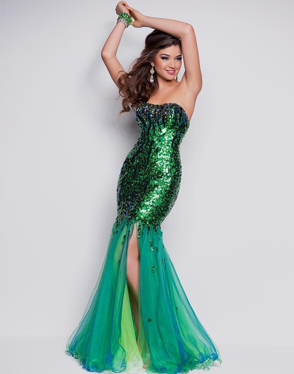 beautiful elegant prom dresses photo - 1