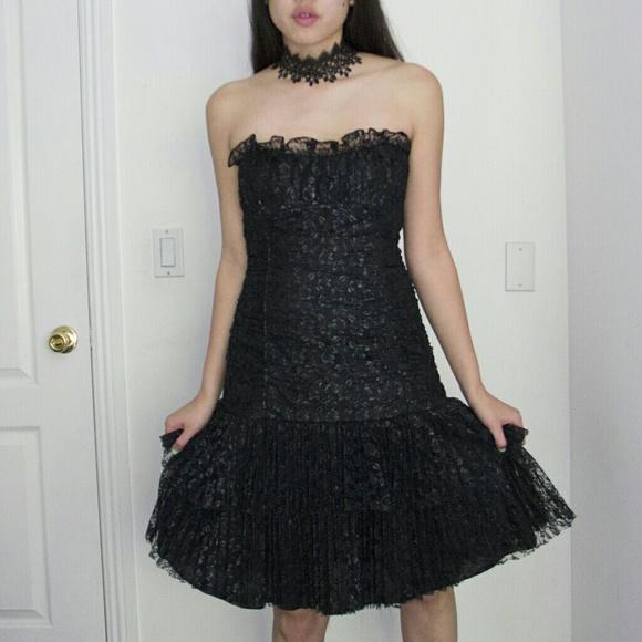 betsey johnson evening dress photo - 1
