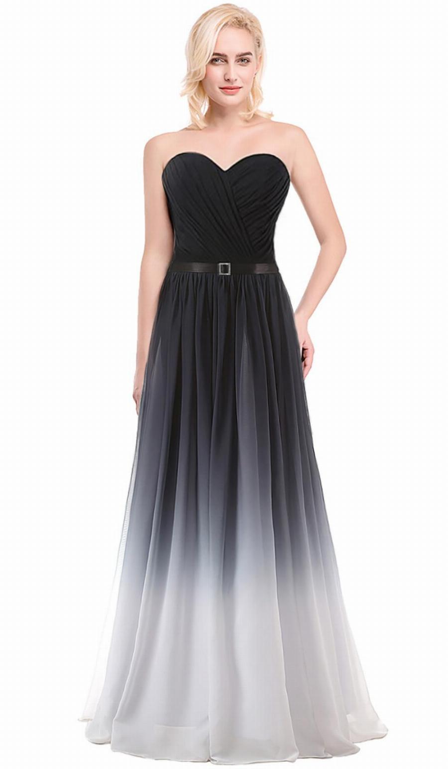 black elegant dresses cheap photo - 1