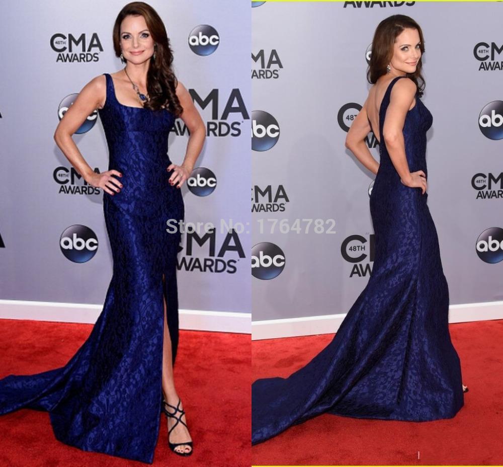 blue dress red carpet photo - 1