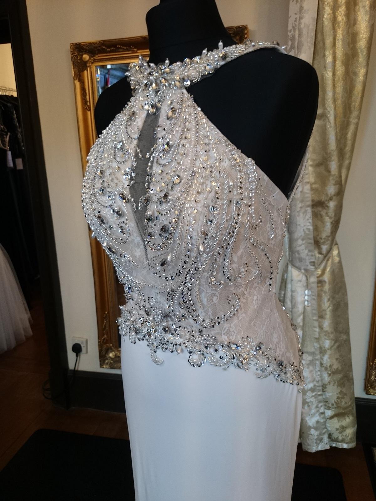 bridal evening dress photo - 1