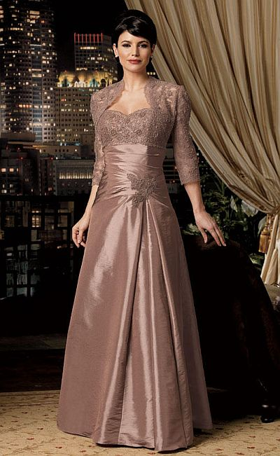 champagne evening dress photo - 1