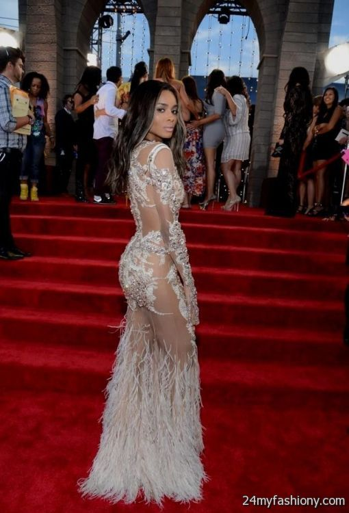 ciara red carpet dress photo - 1