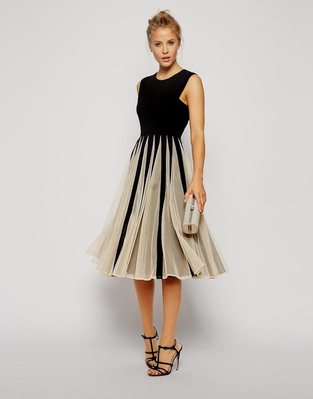 dresses for evening wedding guests photo - 1