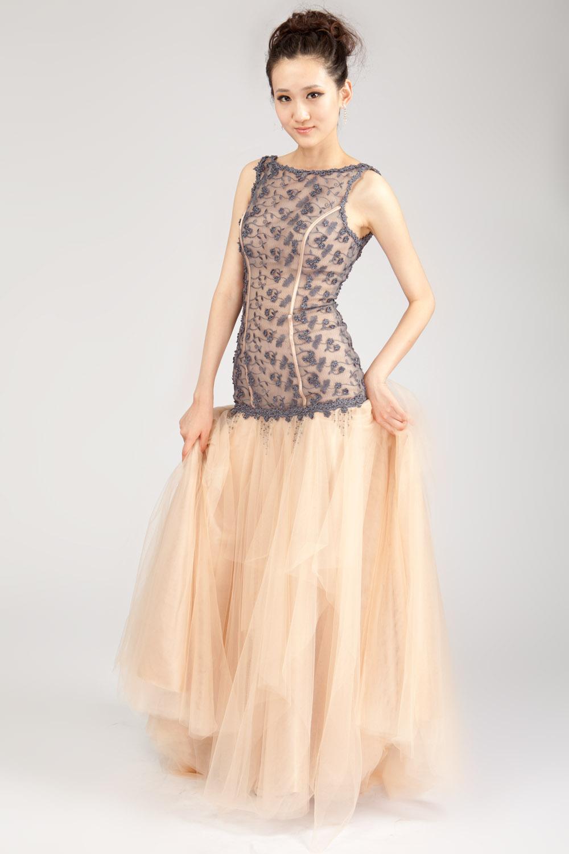 drop waist evening dresses photo - 1