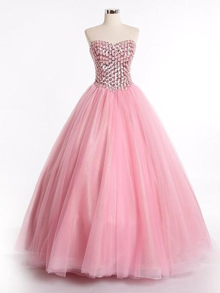 elegant ball gown dresses photo - 1