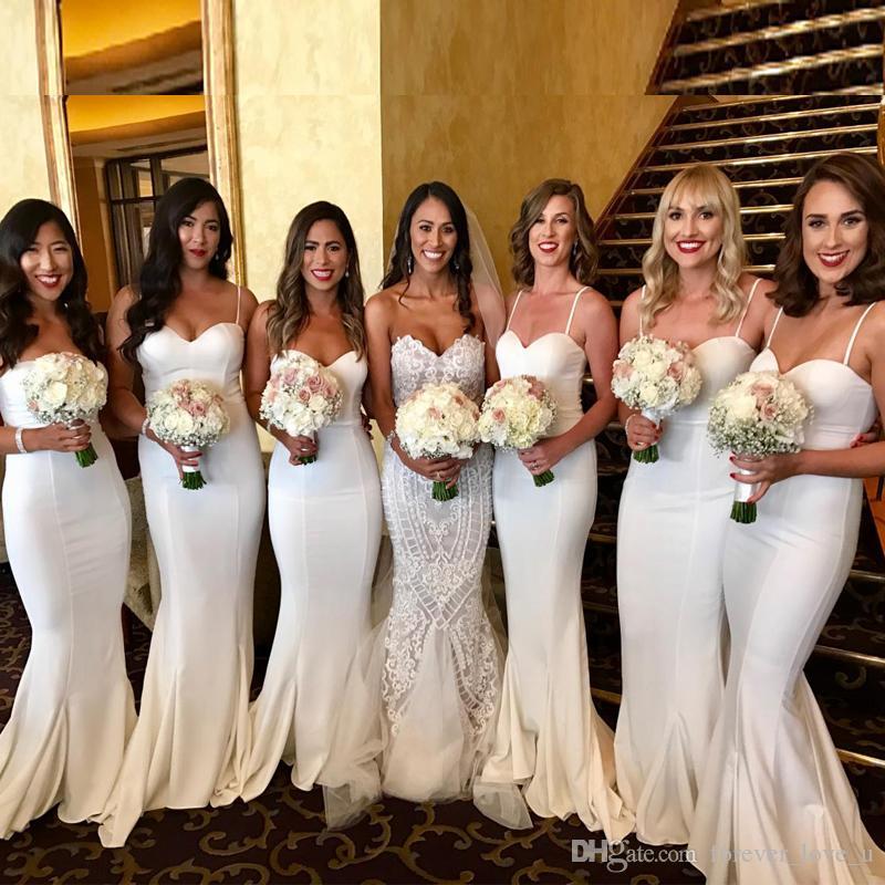 elegant bridesmaid dresses photo - 1