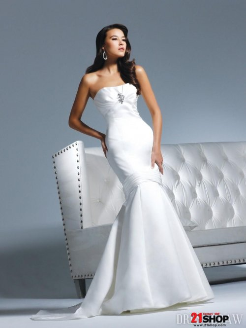 elegant dresses for wedding photo - 1
