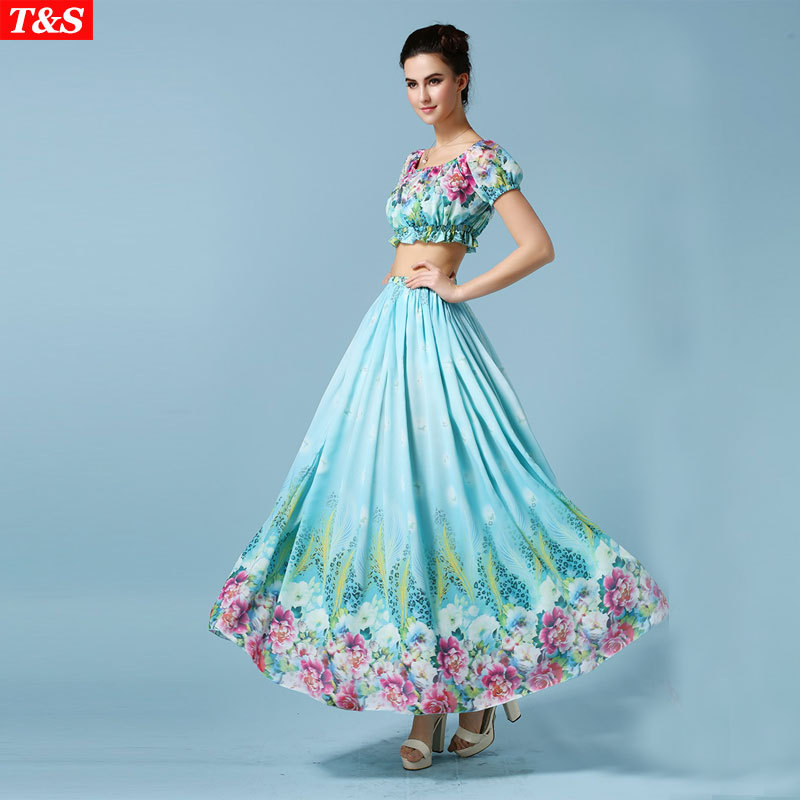 elegant hawaiian dresses photo - 1