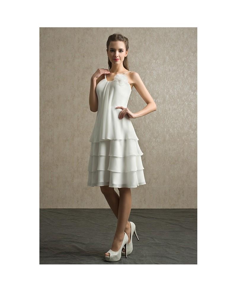elegant ivory dresses photo - 1
