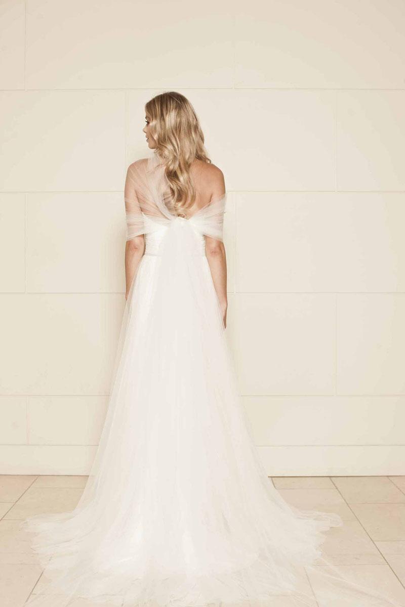 elegant ivory wedding dresses photo - 1