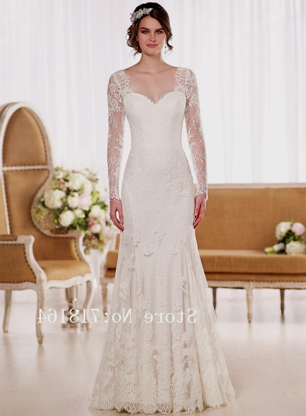 elegant modest wedding dresses photo - 1