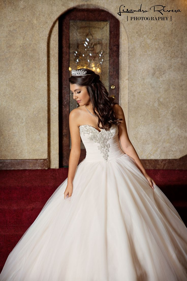 elegant quinceanera dresses photo - 1