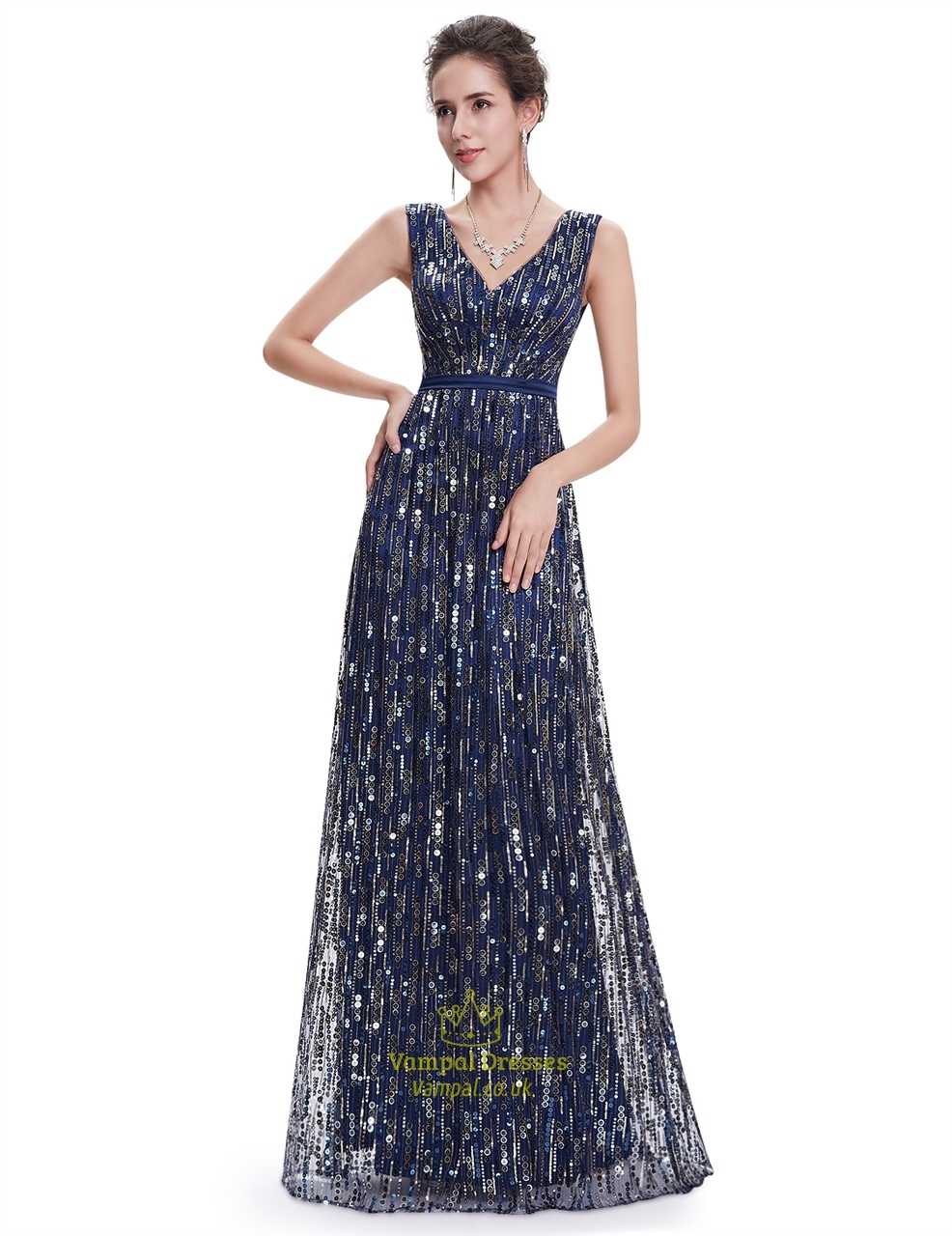 elegant sequin dresses photo - 1