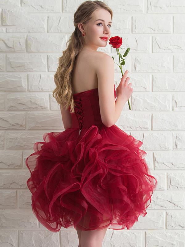 elegant short prom dresses photo - 1