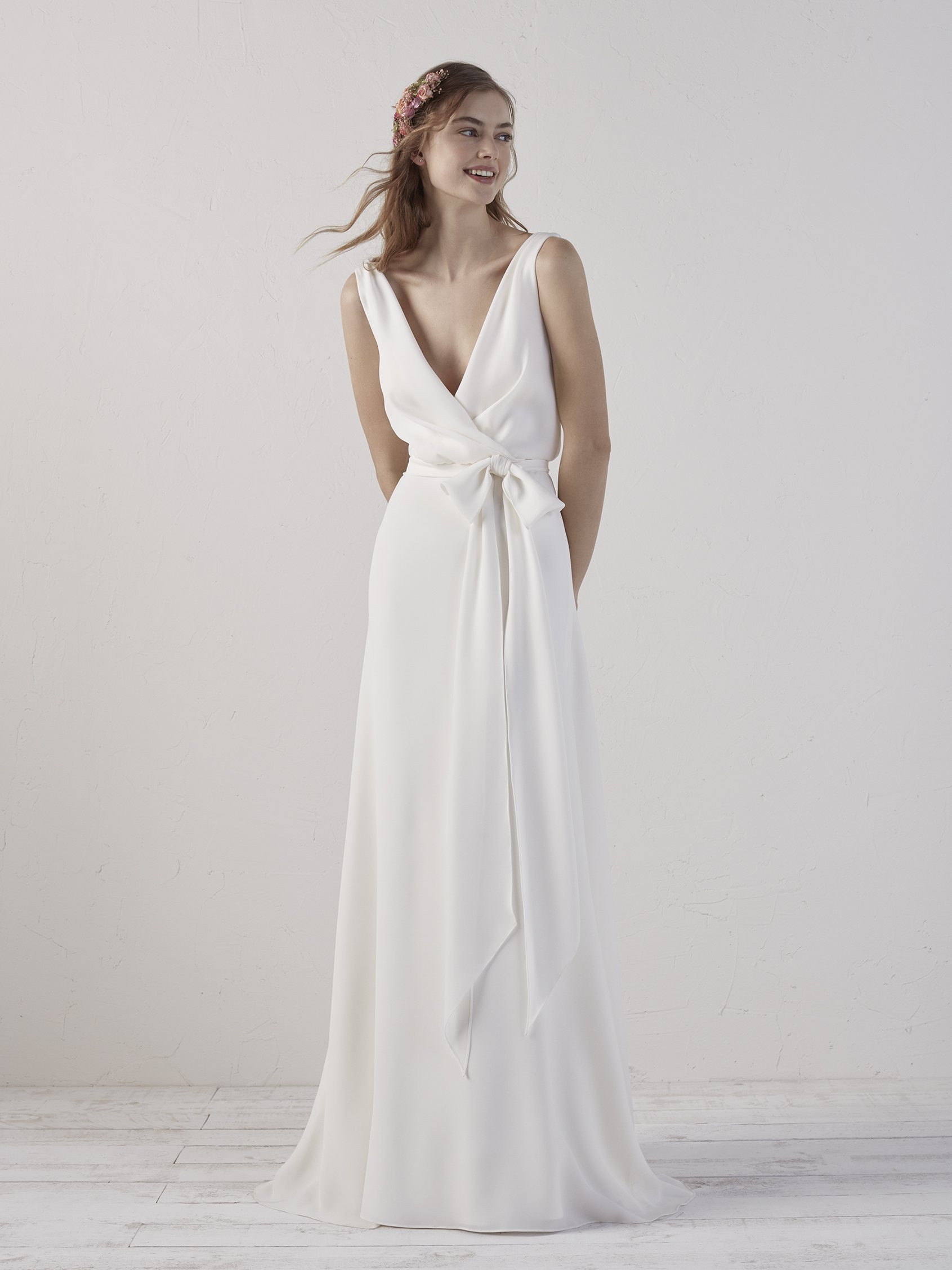 elegant white summer dresses photo - 1