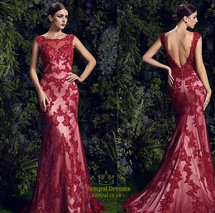 embellished evening dress photo - 1