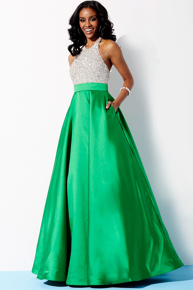 embellished evening dresses photo - 1