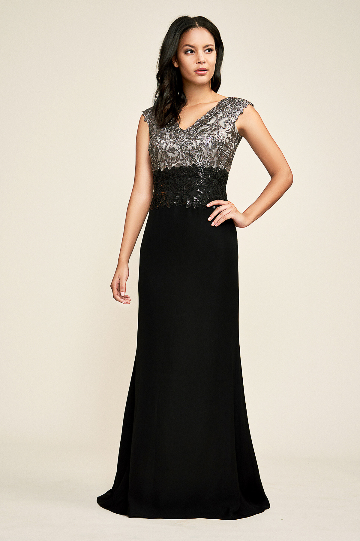 evening dress petites photo - 1