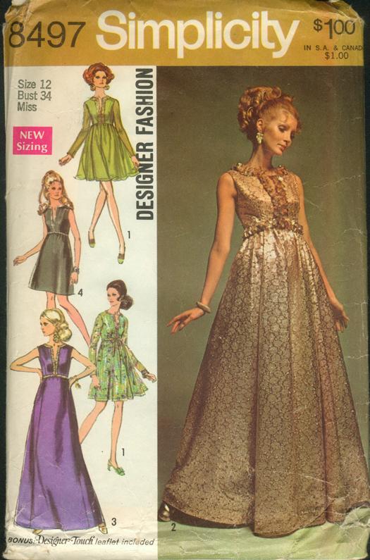 evening dress sewing patterns photo - 1