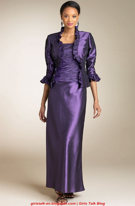 evening dresses for older women photo - 1