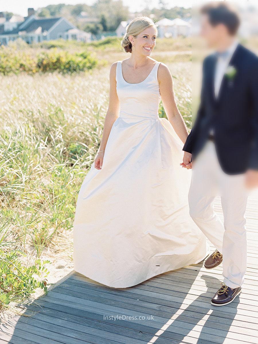 evening gown wedding dress photo - 1