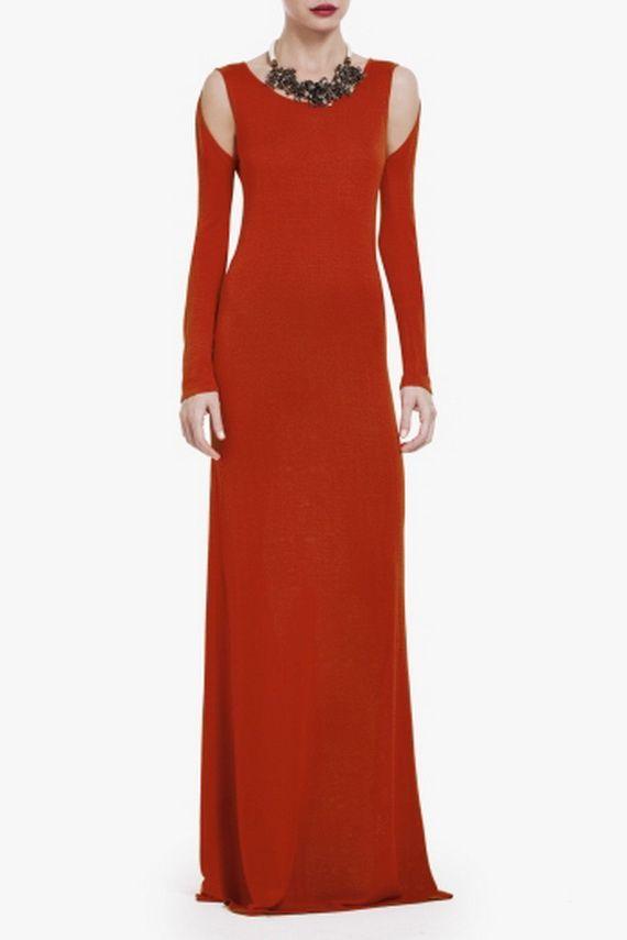 evening long sleeve maxi dresses photo - 1