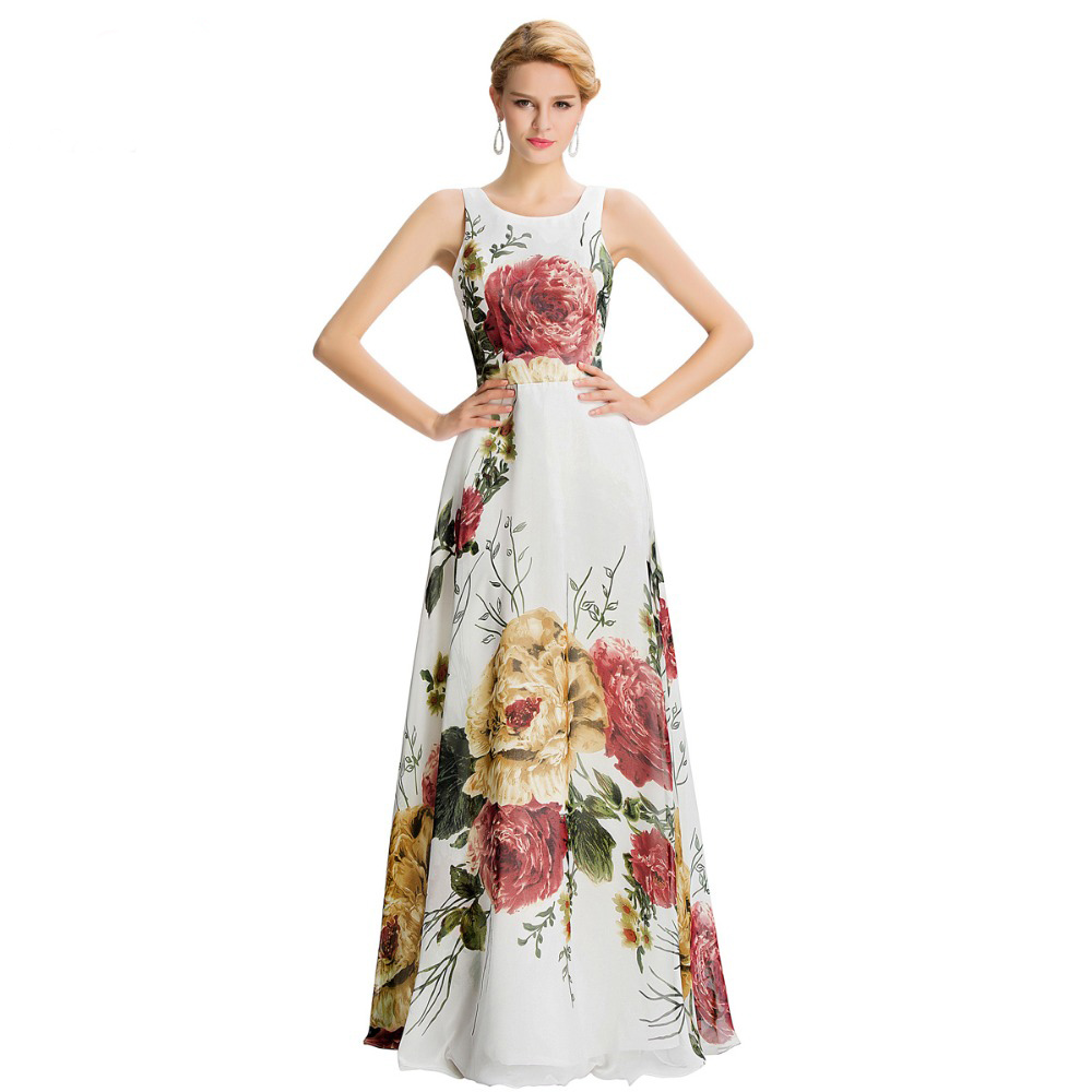 floral evening dresses photo - 1