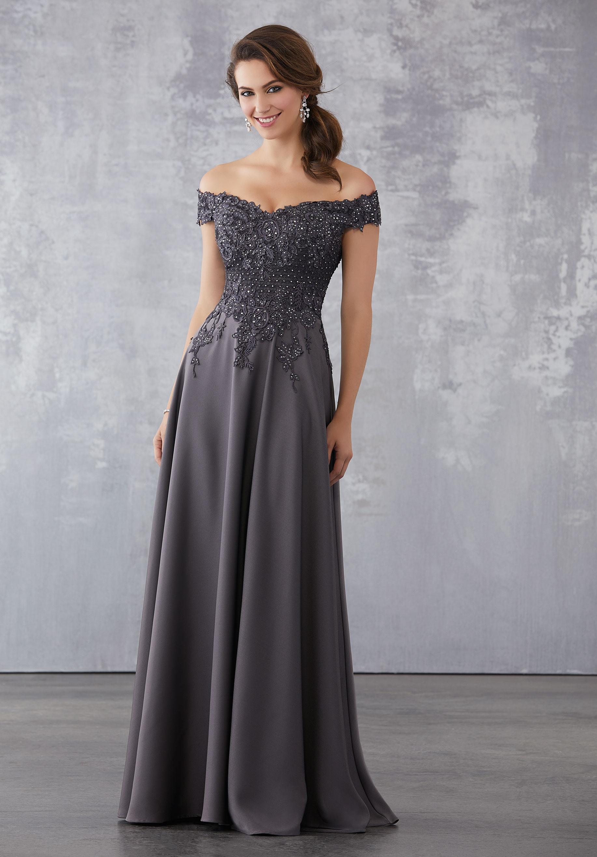 formal evening dress photo - 1