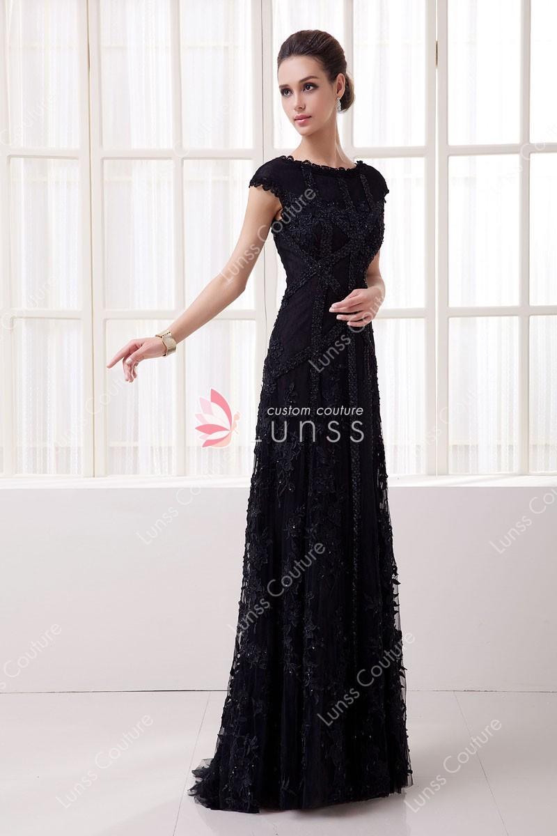 full length evening dresses photo - 1