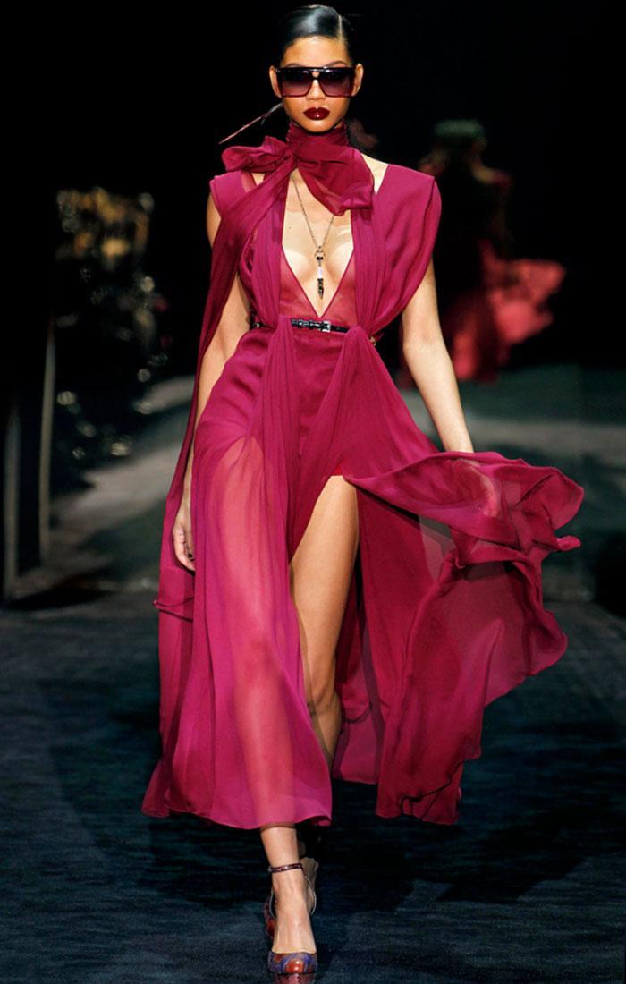 gucci evening dress photo - 1