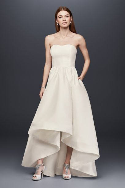 ivory evening dresses photo - 1