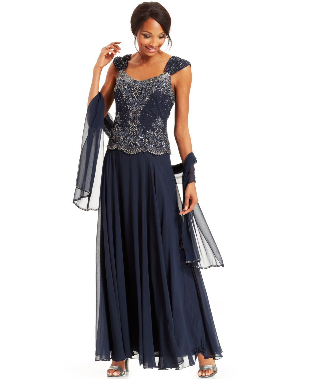 j kara plus size evening dresses photo - 1