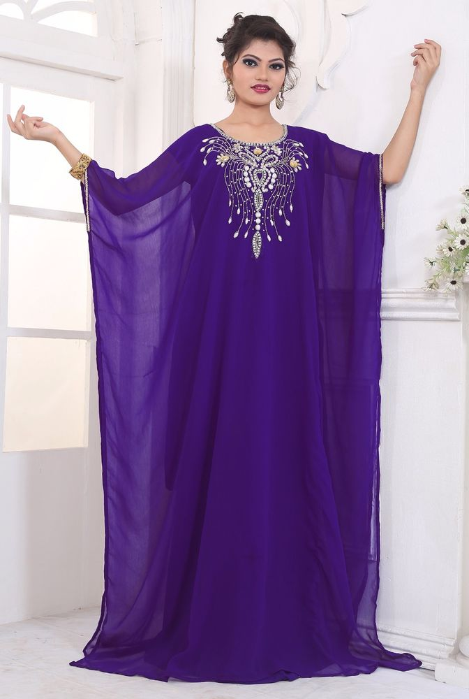 kaftan evening dress photo - 1