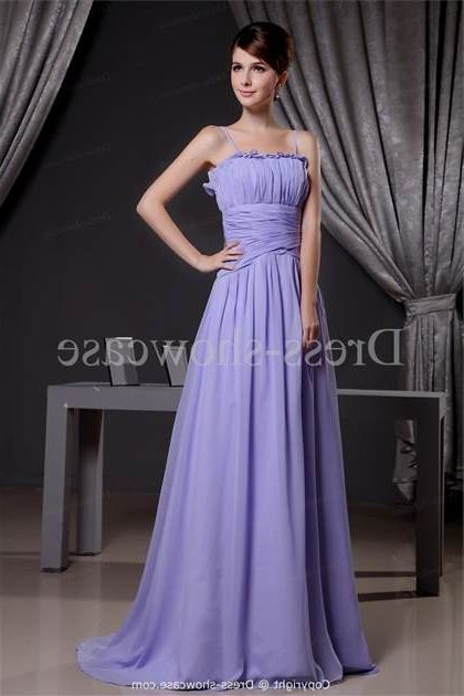 lavender elegant dresses photo - 1
