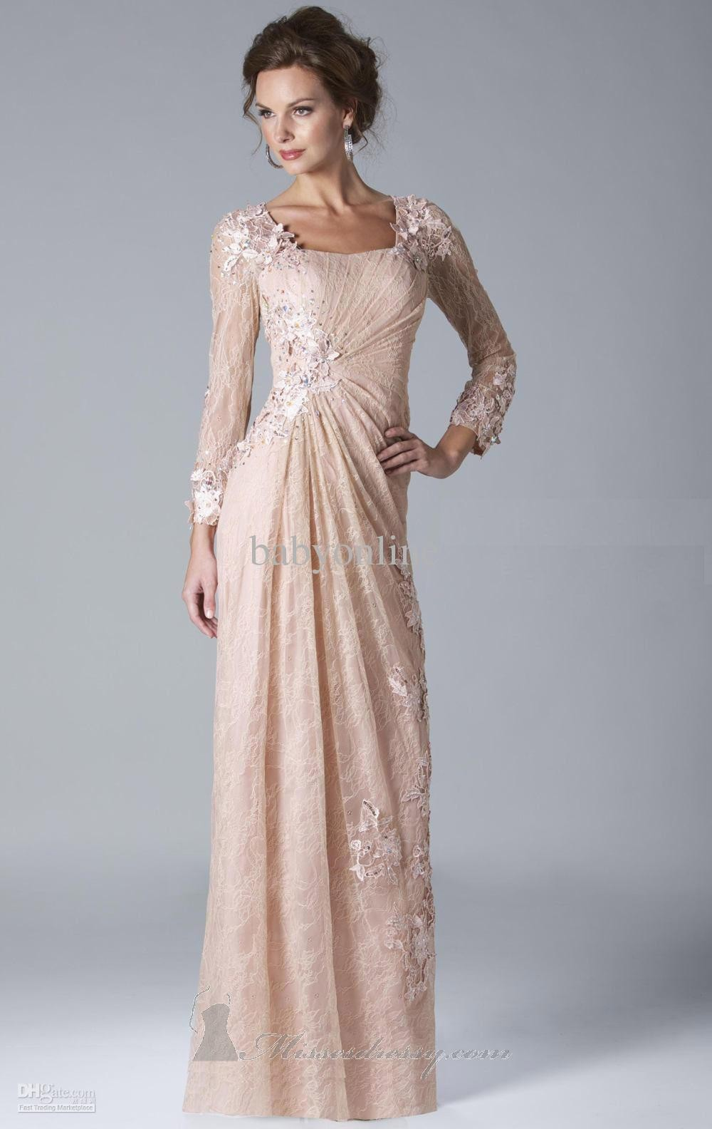 long dresses for women evening photo - 1