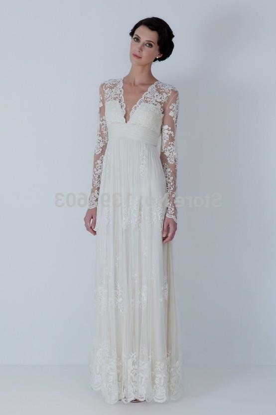 long elegant dresses cheap photo - 1