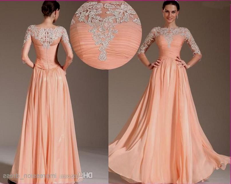 long elegant dresses for weddings photo - 1