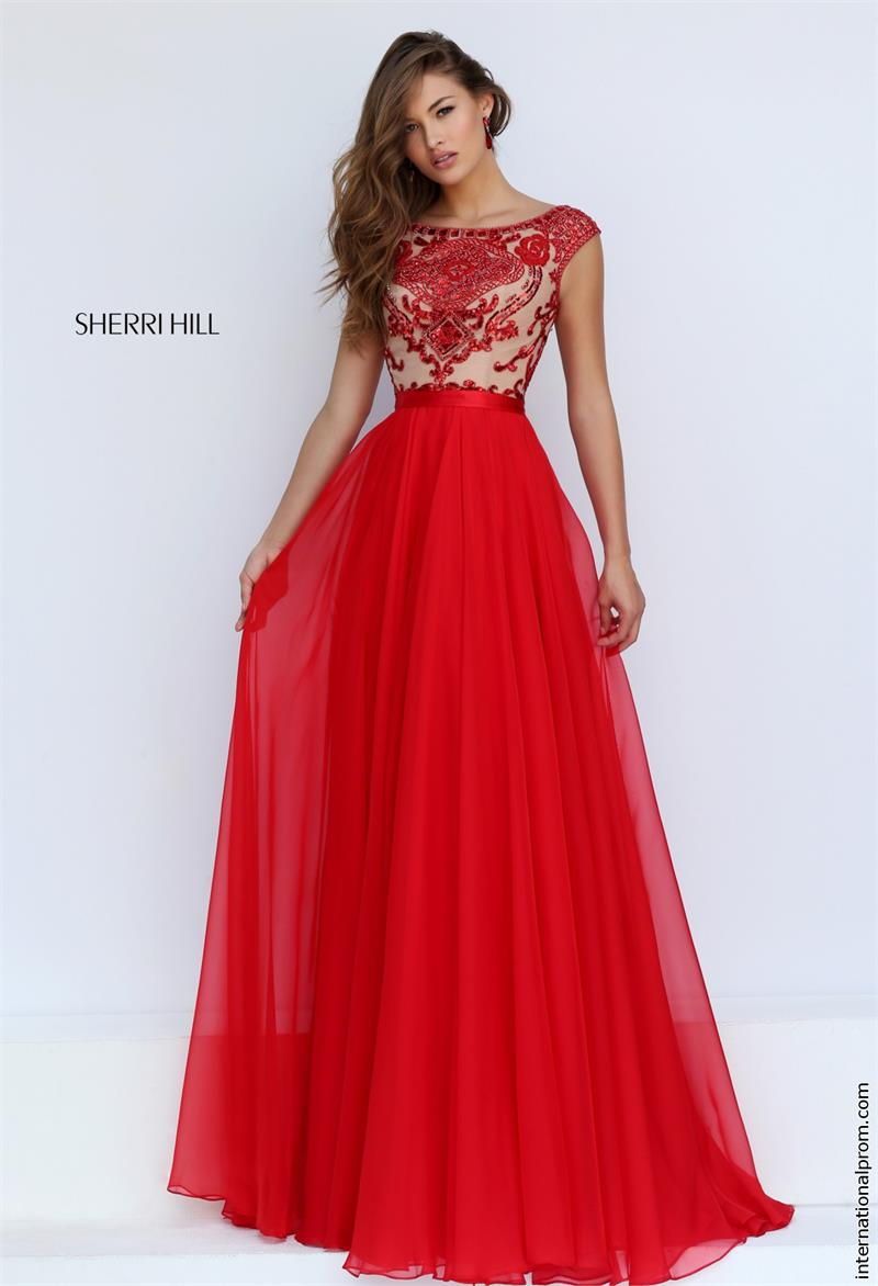 long red evening dresses photo - 1