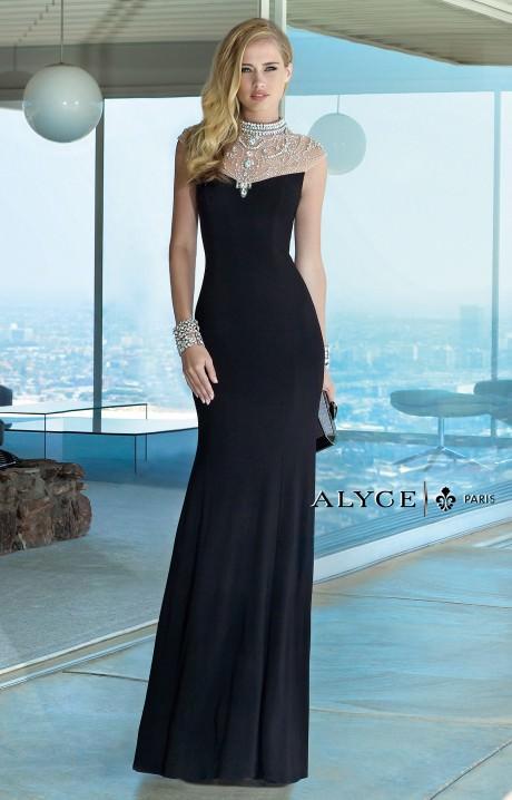 long sleeve elegant prom dresses photo - 1