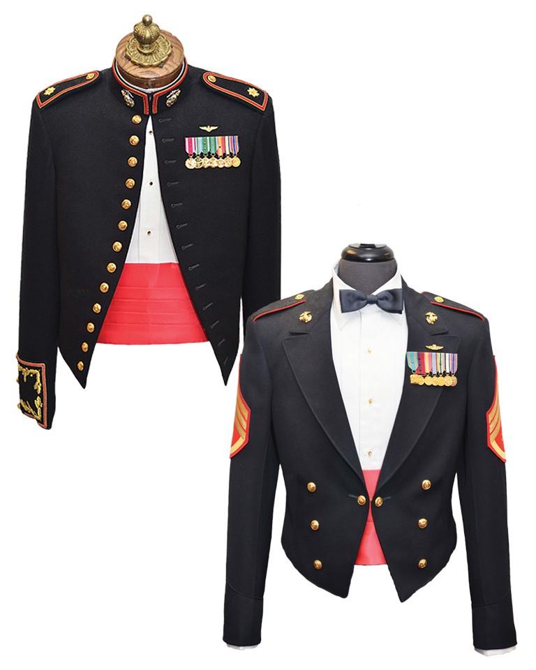 marine corps evening dress photo - 1