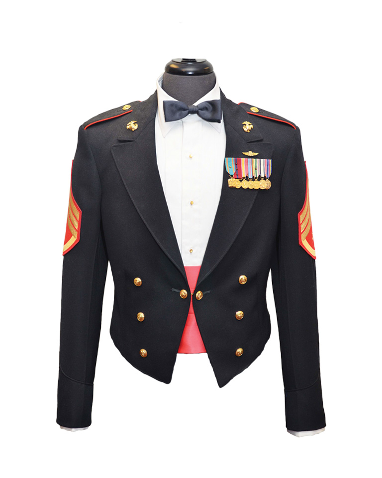 marine evening dress uniform photo - 1