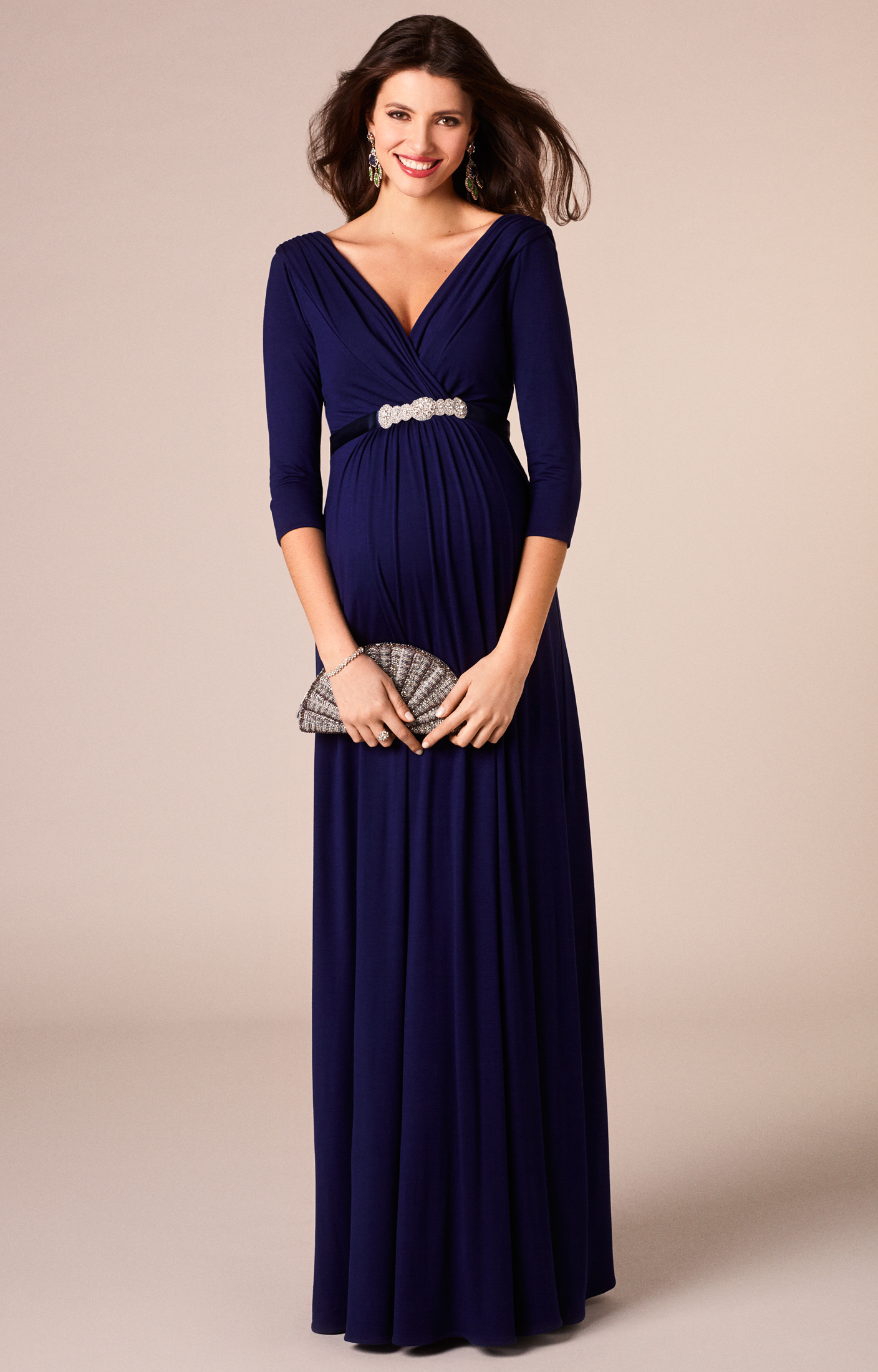 maternity formal evening dresses photo - 1